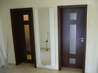 Türen aus Zebrano