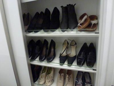 Individueller Schuhschrank