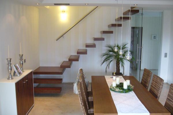 Treppe im Wohnzimmer